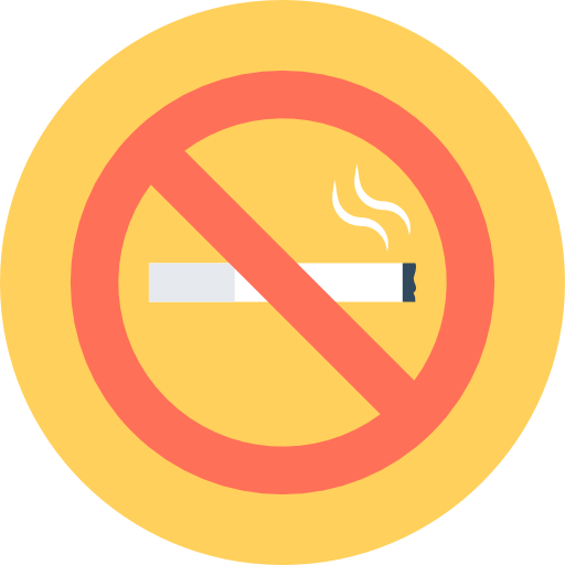 All of our rooms are non-smoking